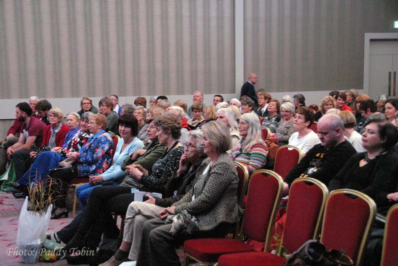Part of the audience at Helen Dillon's talk in Cork