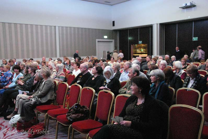 Some of the audience at Helen Dillon's talk in Cork