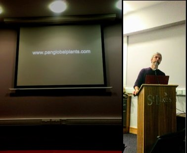 Nick Macer speaking to the IGPS group in Cork. Photograph from Bruno Nicolai